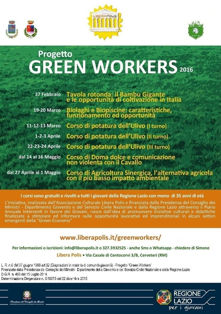 progetto_greenworkers web